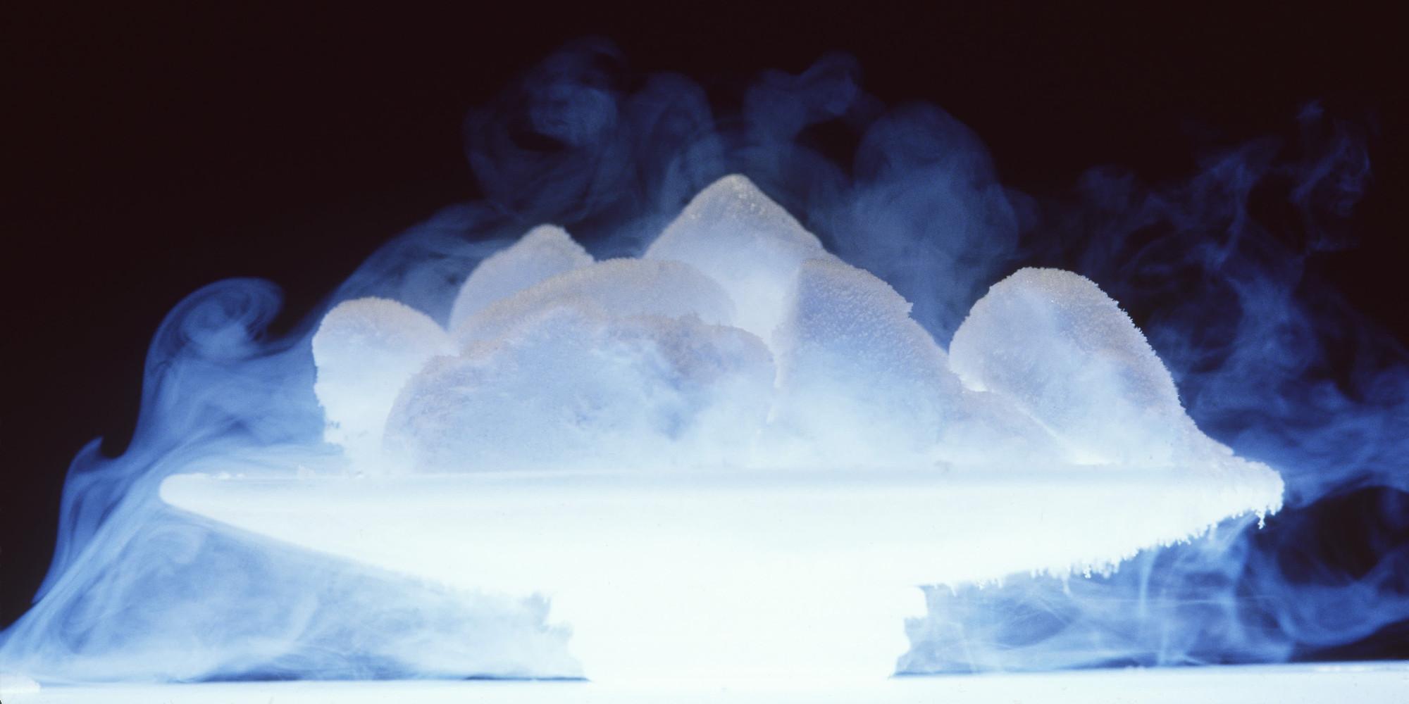 Картинка испарения льда