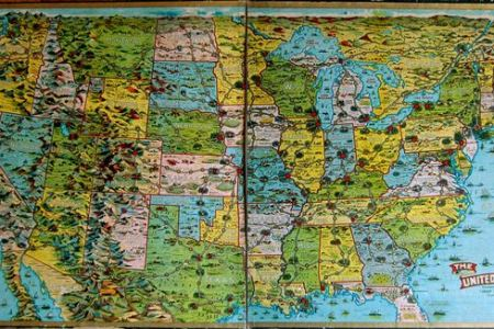 the united states game. geographicus rare antique maps