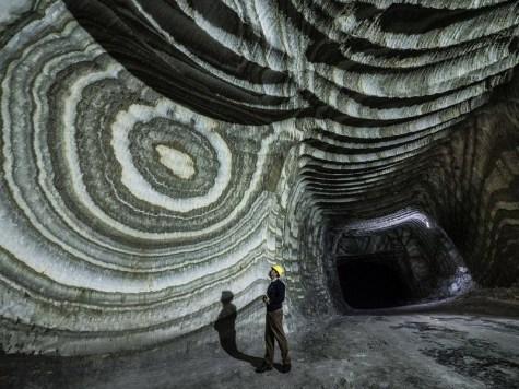 The Realmonte Salt Mine in Sicily