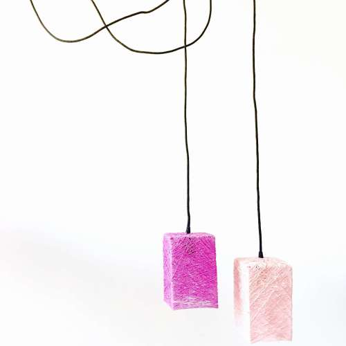 lámpara de techo hecha a mano moderna artesanal decorativa