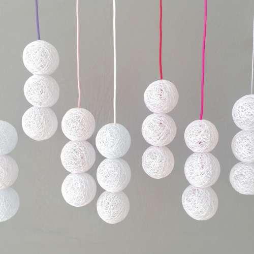 Lámpara colgante decorativa BALLS