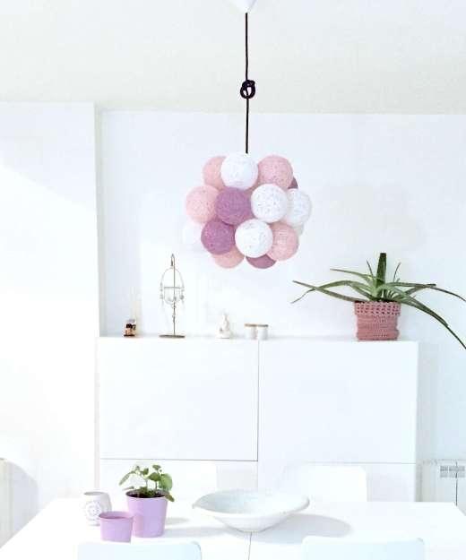 Lámpara colgante de diseño MOLEKULAR COLORS