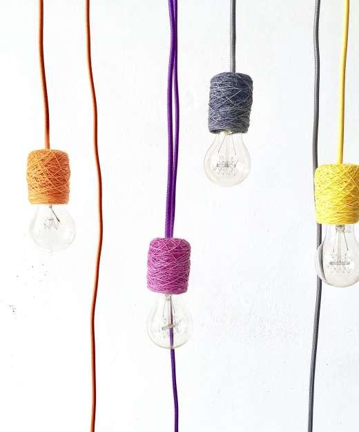 Lámpara colgante minimalista - NUDE