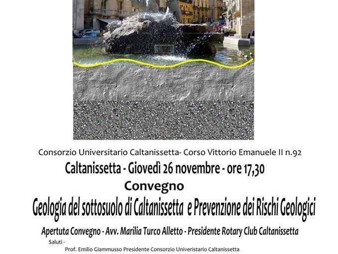 Caltanissetta: Geologia del Sottosuolo di Caltanissetta e Prevenzione dei Rischi Geologici