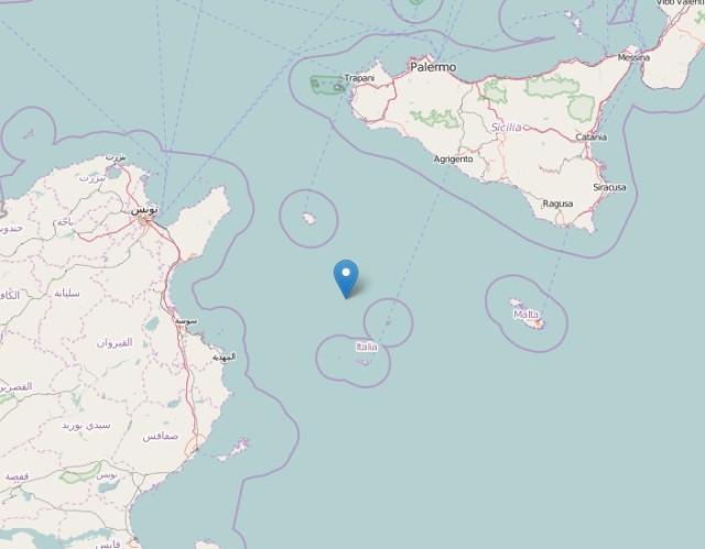 Terremoti nel Canale di Sicilia: nuova scossa magnitudo 3.2, riepilogo e dati INGV