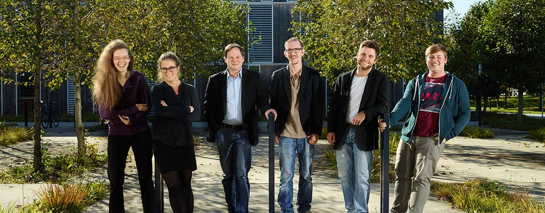 xamoom Team, Foto: Johannes Puch