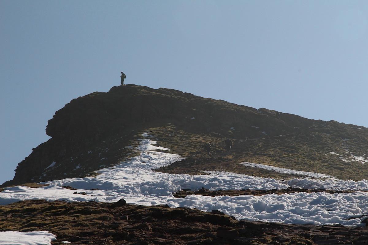 Pen Y Fan climber