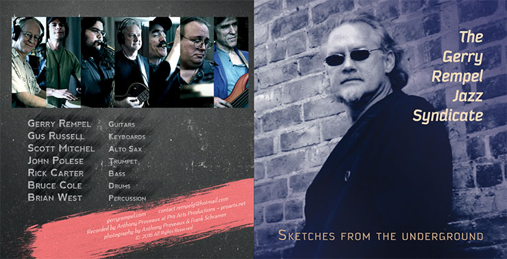 Sketches From The Underground by Gerry Rempel Jazz Syndicate (2016)