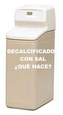 descalcificador CALMIX contra la sal