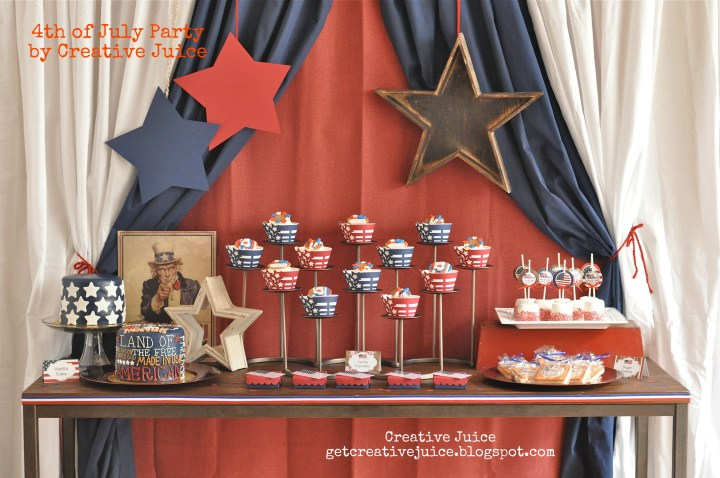 4th of july party by creative juice 4288 x 2848 patriotic for 4th of july party ideas for adults