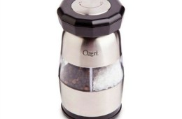 Ozeri Duo Ultra Salt and Pepper Mill & Grinder