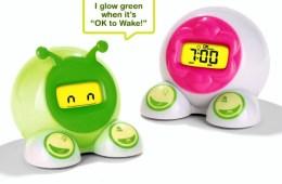 Parents Get More Sleep with OK to Wake Children's Alarm Clock