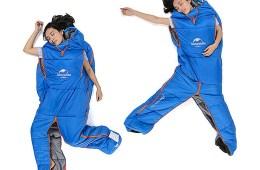 Sleep as you Wish with the Sleeping Bag Suit