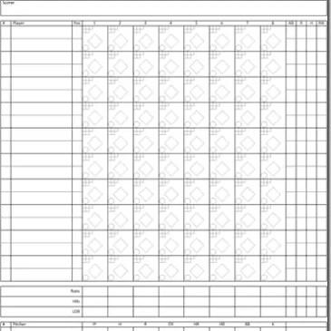 baseball scoresheet. Black Bedroom Furniture Sets. Home Design Ideas