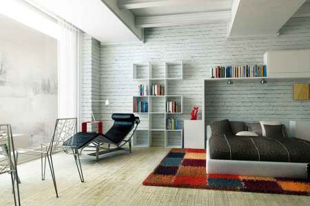 big gl white wall decal and cool bookcase amazing