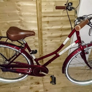 Real Classic Ladies Bike Red - Used