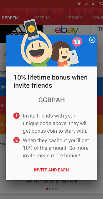 Share & refer friends
