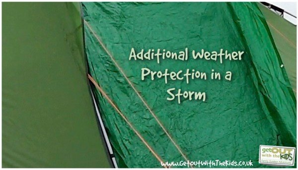Tarps can add aditional weather protection