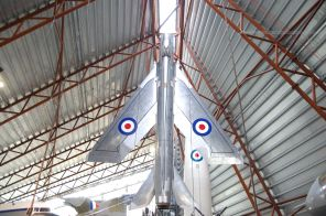 Lightening at Cosford. Yep, straight into the vertical.