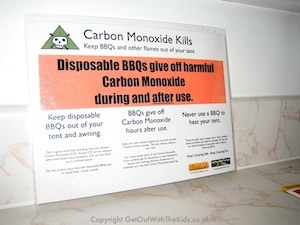 Get Out With The Kids carbon monoxide poster