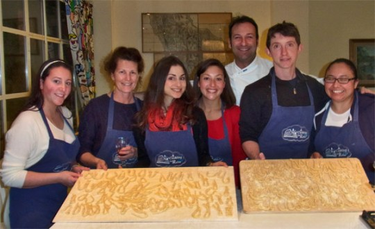 Pasta class in Rome