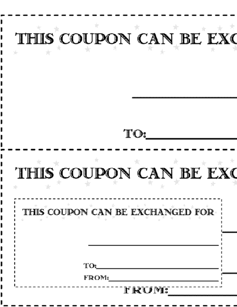 11 free coupon templates word excel pdf formats for Coupon making template
