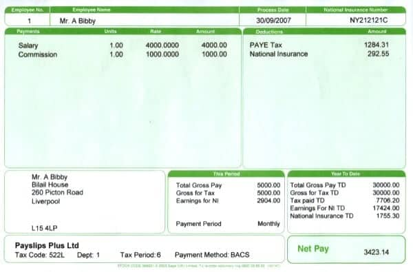 free expense template