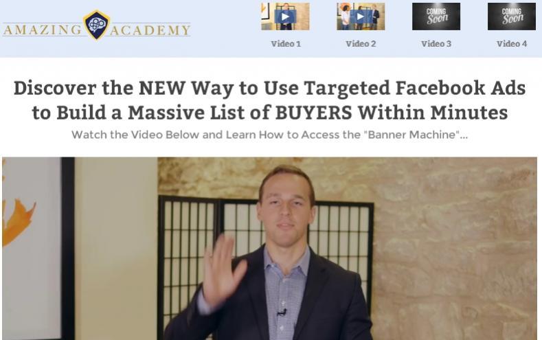Matt Clark, Ezra Firestone, Justin Aquila – Social Secrets – Facebook ads