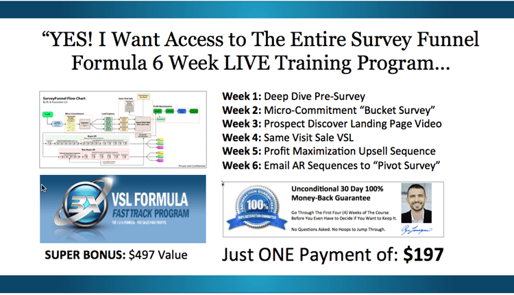 Ryan Levesque and Todd Brown – Survey Funnel Formula