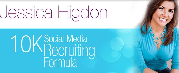 Jessica Higdon – 10K Social Media Recruiting Formula