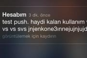 """Turkcell'den Gelen """"test push"""" Bildirimi Kafaları Karıştırdı"""