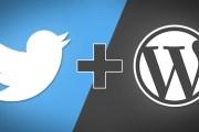 WordPress için Twitter Eklentisi Yayınlandı