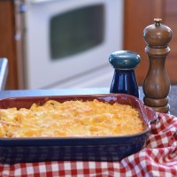 awesome four-cheese macaroni and cheese ... and it's gluten free too!