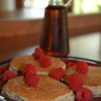 gluten free sunday morning pancakes - we're on Cloud 9