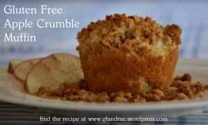apple crumble muffin. gfandme 2013.