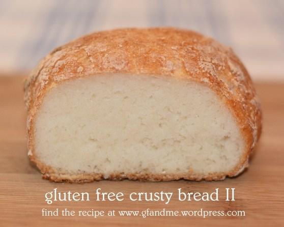 gluten free crusty bread II. gf and me 2013.