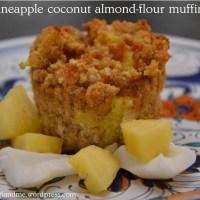 Pina Colada Almond Flour Muffins