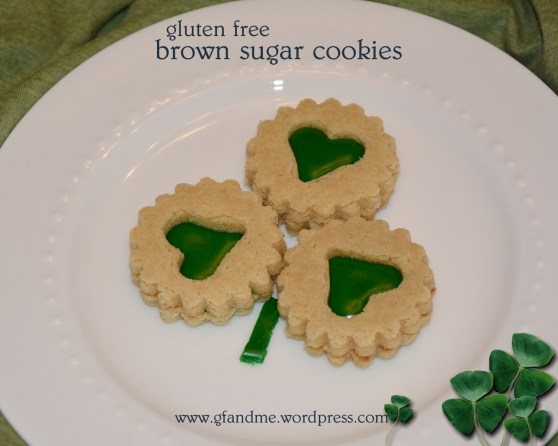 gluten free brown sugar cookies