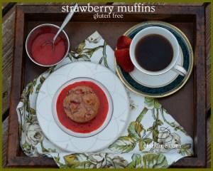 gluten free strawberry muffins. gfandme.com