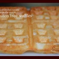 Awesome Almond Flour Gluten Free Waffles