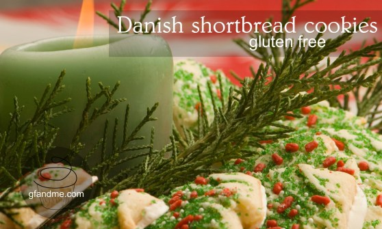 gluten free whipped butter shortbread cookies
