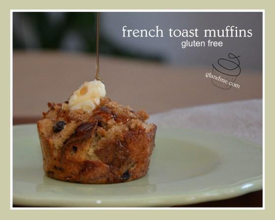 french toast muffins. gfandme.com