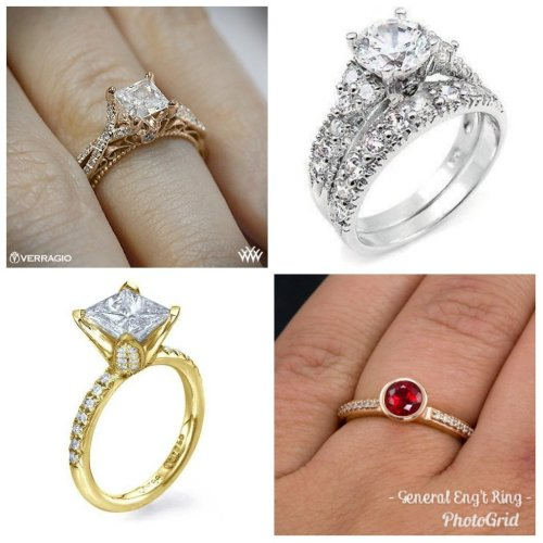 Medium Of Types Of Engagement Rings
