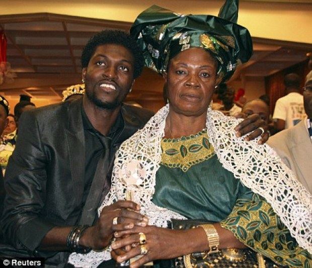 ade Adebayor denies evicting his mother over Juju: Im not a pastor, I cannot point out a witch [Audio]