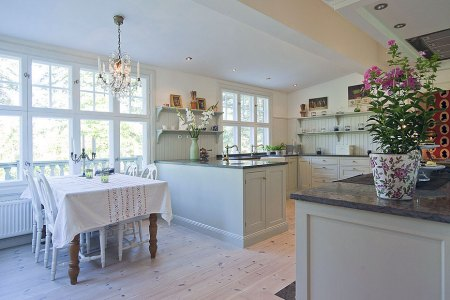 small dining table on the kitchen ideas