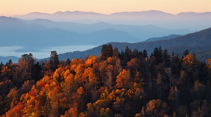 Great Smoky Mountains National Park road trip