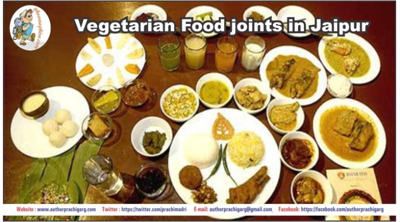 Vegetarian Food joints in Jaipur