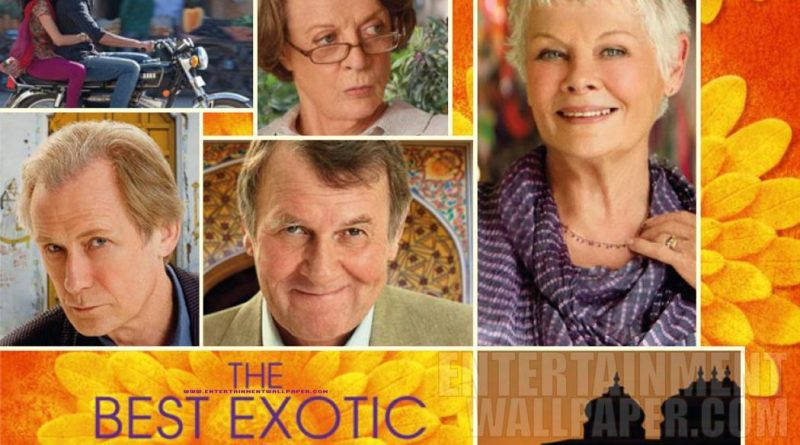 Review : The best exotic Marigold Hotel