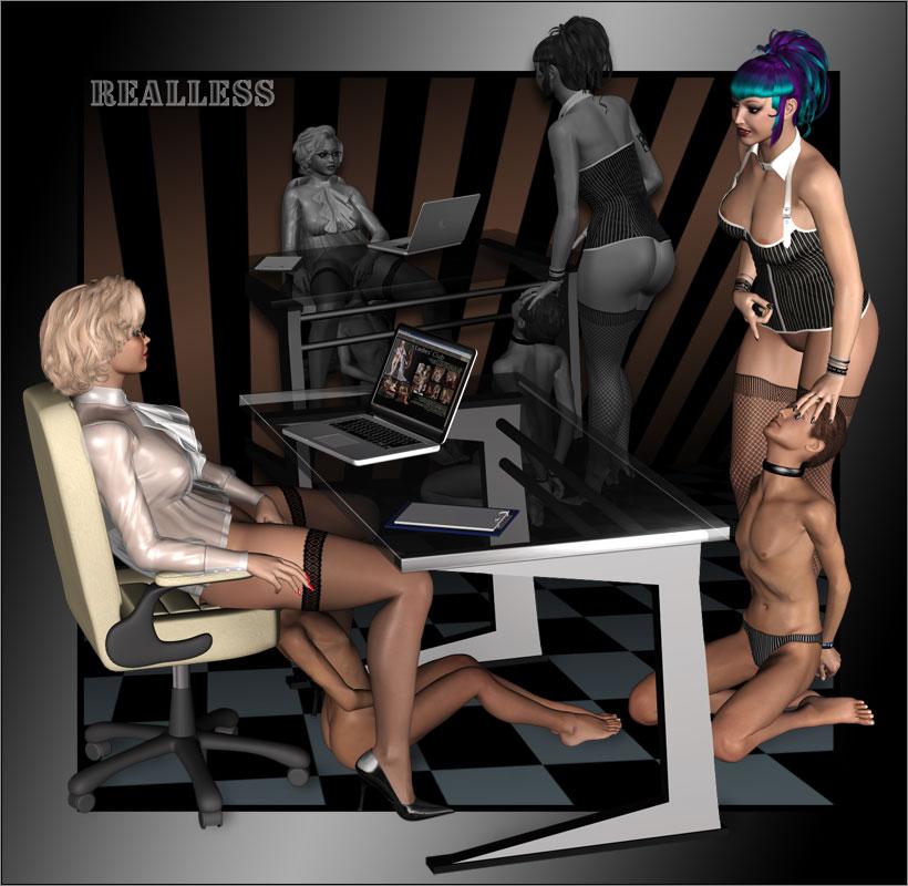3d femdom art