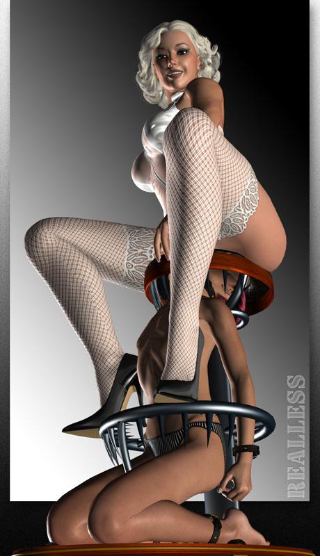 3d femdom bdsm art